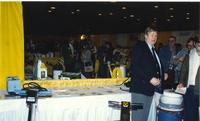 Mankato State University Building Trade Show, Centennial Student Union Ballroom, 03-21-1989.