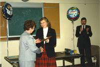 Mankato State University Anita C. Stone Retirement, 04-03-1989.