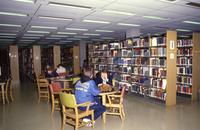 The Educational Resource Center in the Memorial Library at Mankato State University, 1990?