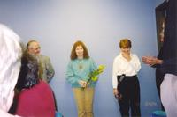 Minnesota State University, Mankato, library staff and Dean. 2004-03-03.