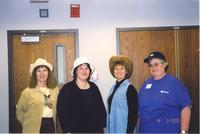 Minnesota State University, Mankato, library staff posing for a picture, March 1, 2004.