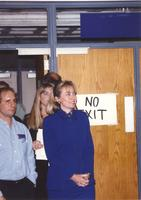 Hillary Clinton at Mankato State University October 30, 1992.