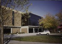 Memorial Library, Mankato State University, Autumn 1992.