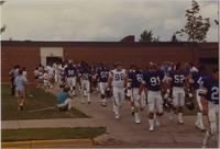Minnesota Vikings Training Camp, Mankato State University, August 1987.