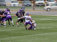MSU Football team Spring game, Blakeslee Stadium, Minnesota State University, Mankato, 2016-04-16