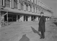 Armstrong hall construction at Mankato State College 1963-12-07