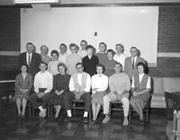 A group of students and faculty members at Mankato State College 1959-11-11