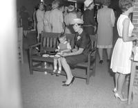 Mother-Daughter Tea at Mankato State College, 1964-05-14.