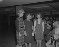 Cooper Christmas Tea at Mankato State College, 1963-01-22.