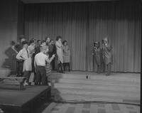 "Mankato State College Winter Quarter Play, ""Rhinoceros,"" 1963-02-20."