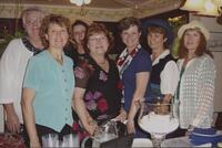 Library Service Employees Rebecca Schwartzkopf, Mary Nere, Lea Ann Larson, Jeanne Domas, Leslie Peterson, Peg Lawrence and Rosie Mock at Minnesota State University, Mankato