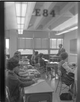 Shorthand Class at Mankato State College, 1961-11-09.