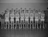Mankato State College Basketball team, 1961-12-19.