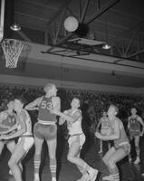 Mankato State College Basketball game, 1962-01-02.