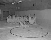 Judo match, Mankato State College, 1962-01-15.