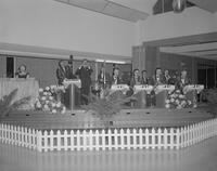 Jules Herman's band playing at Mankato State College, 1962-05-03.