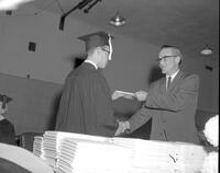 Commencement at Mankato State College, 1962-06-06.