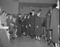 1962 Spring Commencement at Mankato State College, 1962-06-06.