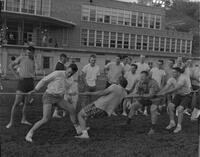 Tug of War at Mankato State College, 1962-06-06.