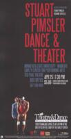 2015-04-25, Stuart Pimsler Dance & Theater, Promotional Poster. Theatre and Dance Department. Minnesota State University, Mankato.
