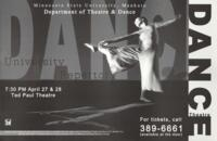 2006-04-27, University Repertory, Promotional Poster. Theatre and Dance Department. Minnesota State University, Mankato.