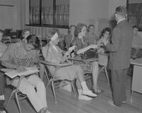 Class at Mankato State College, 1962-09-24.