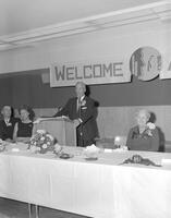 Homecoming Alumni Banquet at Mankato State College, 1962-11-09.