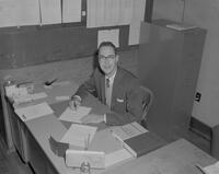Bradley J. Schwieger, Accounting Department Chairman at Mankato State College, 1964-10-29.