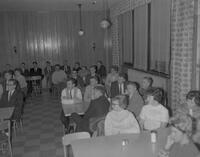 Phi Beta Lambda meeting in Pine Room, Mankato State College, 1963-02-23.