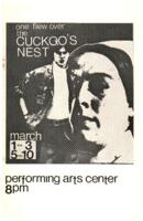1974-03-01, One Flew Over the Cuckoo's Nest, Program. Theatre and Dance Department.  Minnesota State University, Mankato.