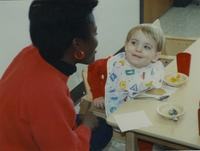 Staff at Mankato State University Children's House December 13, 1989.