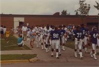 Mankato State University Vikings Camp, August 1987.