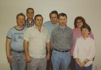 Residence Hall Maintenance Staff at Mankato State University, 1989-11-12.