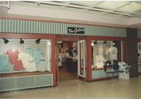 "A picture of the Mankato State University clothing store, ""The Gallery,"" located in the MSU Centennial Student Union, 1980s."
