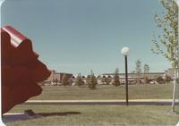 Wave Sculpture at Mankato State University