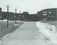 A picture of part of the Mankato State University Trafton Science Center, 1970s.