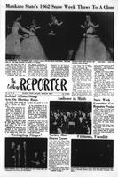 College Reporter, Wednesday, January 31, 1962, Volume, 35, Issue, 49