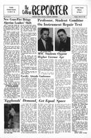 College Reporter, Tuesday, March 27, 1962, Volume, 35, Issue, 70