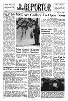 College Reporter, Thursday, January 10, 1963, Volume, 36, Issue, 29