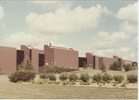 A picture of the Mankato State University Trafton Science Center, 1980s.