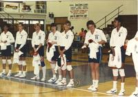Minnesota Monarchs at Mankato State University, May 6, 1990.