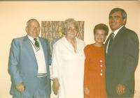 Mankato State University reception with distinguished alumni Richard Maas, 06-08-1990.