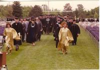 Mankato State University Commencement in Blakeslee Stadium, 06-08-1990.