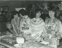 At the 1984 International Festival, Mankato State University.