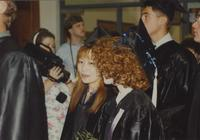 Graduation Ceremony at Otto Arena in Mankato State University. 06-07-1991.