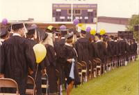Mankato State University Commencement at Blakeslee Stadium, 06-08-1990.