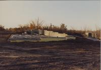 Construction of Andreas Observatory, Mankato State University, 1989-12-06.