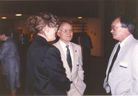 College President Margaret R. Preska at Mankato State University, 1991-04-19.
