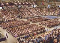 Minnesota State University, Mankato Spring Commencement at the Midwest Wireless Civic Center.