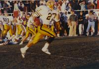 Mavericks versus Bison football game at Mankato State University, 1990-09-15.